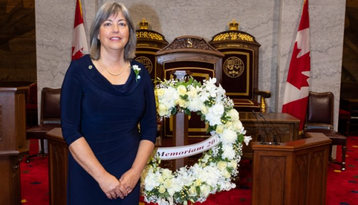 Canadian Association of Former Parliamentarians Memorial Service    / Association canadienne des Ex-Parlementaires Service commémoratif    Ottawa, ONTARIO, on 03 June, 2019.   © HOC-CDC, 2019  Credit: Bernard Thibodeau, House of Commons Photo Services